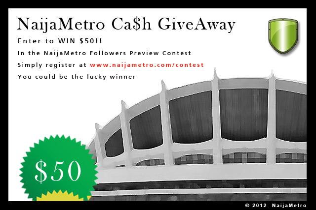 NaijaMetro Cash GiveAway Contest